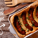 Recipe : Toad in the Hole with Russian sausages