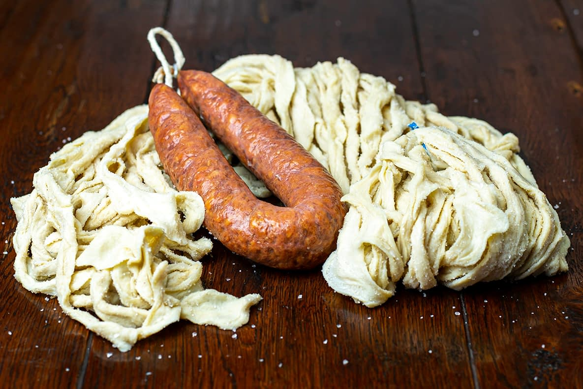 Beef sausage casings from Exim